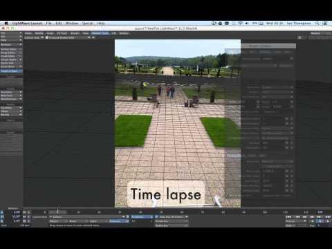 LightWave 3D - Camera Matching (part 01)