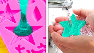 SATISFYING SOAP IDEAS || 24 DIY SOAPS YOU CAN MAKE AT HOME