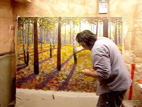 the amazing Landscape  painting on canvas  by Maxim Grunin Part 2