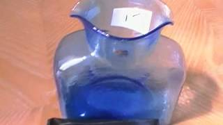 Blenko Art Glass & Tiffany Co Sterling Earrings Turquoise Jewelry Garage Sale Video #35