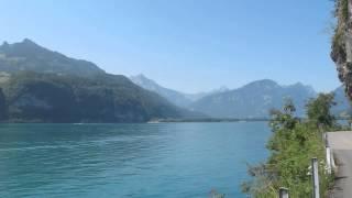 Швейцария. Озеро Валенсее.(Красивое озеро Валенсее., 2013-07-27T18:15:32.000Z)
