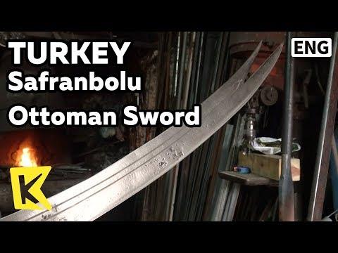【K】Turkey Travel-Safranbolu[터키 여행-샤프란볼루]오스만시대 검/UNESCO/Ottoman/Sword/Blacksmith's