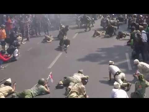 Teatrikal Jalanan - Hari Veteran Nasional Tkt Jawa Barat 2015