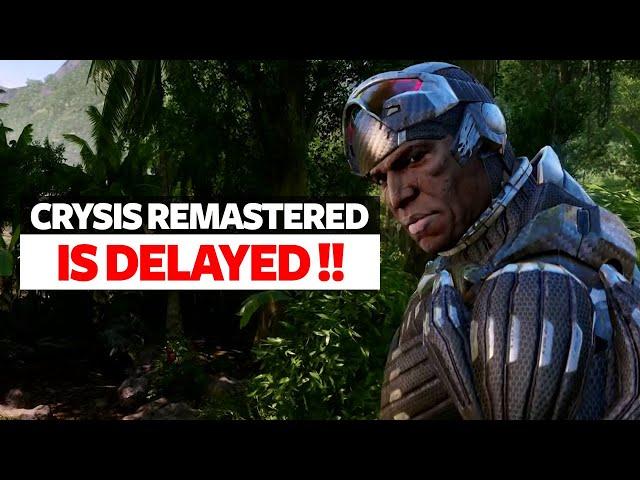 Crysis Remastered Delayed After Trailer Leaked & Community Backlash