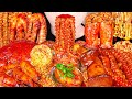 SPICY SEAFOOD BOIL MUKBANG 매운 해물찜 먹방 OCTOPUS, SHRIMP, SCALLOP, ENOKI MUSHROOM COOKING&EATING SOUNDS