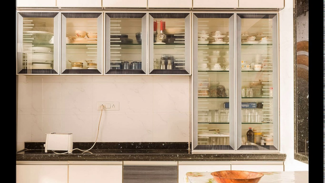 Wall Glass Cabinet Kitchen