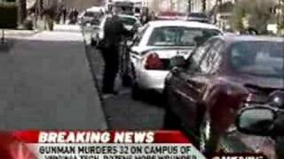 Virginia Tech Massacre Summary 4-16-07