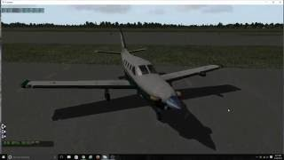 X-Plane 10-Welcome aboard N347GS For Melbourne Airport FL.