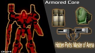 Armored Core - Master Of Arena: Hidden Parts Guide