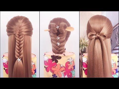 13 kiểu tóc đẹp đơn giản dễ làm cho các nàng tóc dài | Easy hairstyles  tutorial