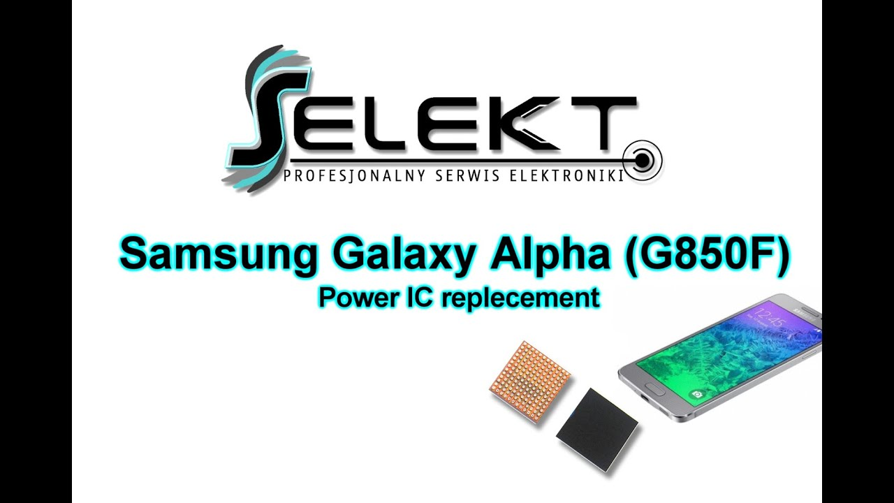 Samsung Galaxy Alpha Power Management IC Replacement