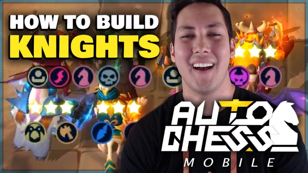 How To Build Knights 🐴 | Claytano Auto Chess Mobile 24