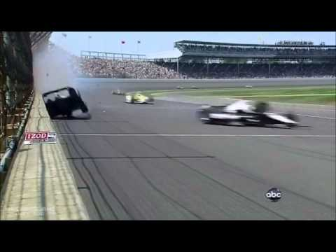 Indy 500 2012 Mike Conway Crash