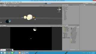 Solar System Textured in Unity