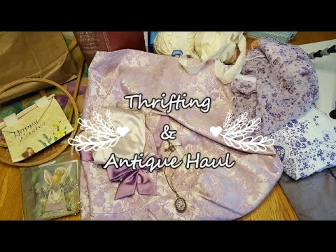 Thrifting & Antique Haul