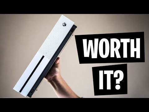Xbox One S Unboxing And Gameplay!