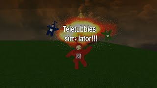 The Massacre of the Teletubbies In Roblox