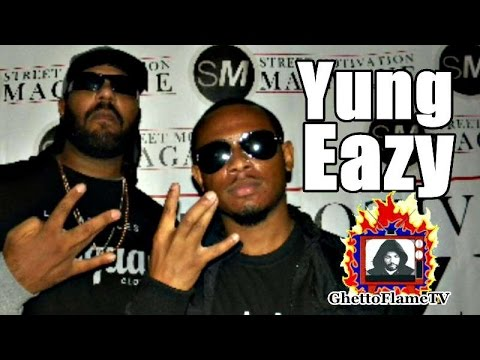 Yung Eazy (Son Of Eric Eazy-E Wright #RIP) On Making A Name For Himself | @GhettoFlameTV