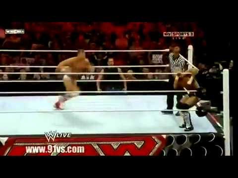 WWE Raw 12/06/10 David Hart Smith vs. Tyson Kidd (/w Jackson Andrews)