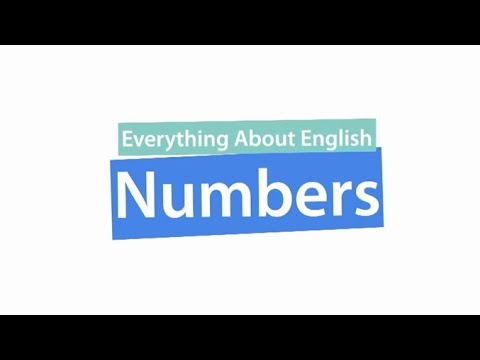 Everything About English : Numbers ภาษาอังกฤษ ม.1-3