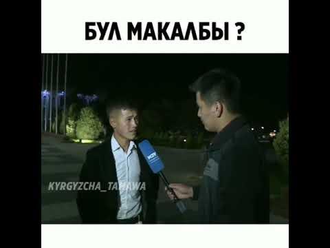 Кыргызча макал#юмор
