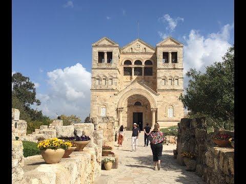 Church of the Transfiguration   Israel Study Abroad Vlog