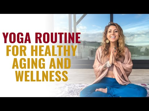 Yoga Routine for Healthy Aging & Wellness❤️