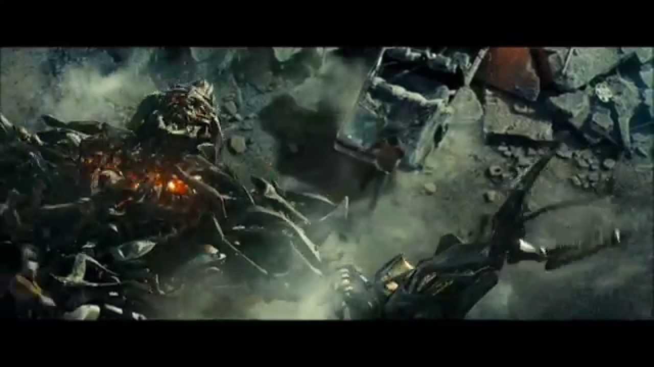 transformers 1 - prime vs megatron (scène mythique) - youtube
