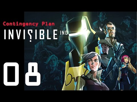 Invisible Inc. Contingency Plan 08 - Most OP weapon ever