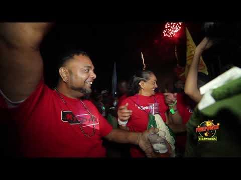 FYAH- Nishard M & Neval Chatelal Chutney Soca Monarch Finals 2019 Winner Firepower Fireworks