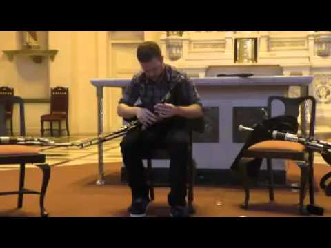Mark Redmond Uilleann Pipes Old Man Dillon/Rolling Wave