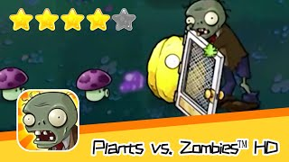 Plants vs  Zombies™ HD Adventure 2 Night 07 Part 2 Walkthrough The zombies are coming! Recommend ind