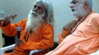 Osho Baba Prem from Burning ghat talking in meditation hall_Pune 2012