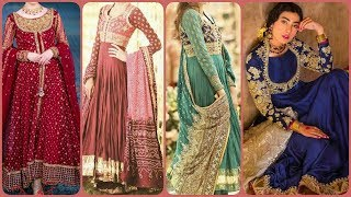 Latest & Trendy Formal & Semiformal Party Wear Outfits Ideas/Gotta Patti Work Dresses for Womens