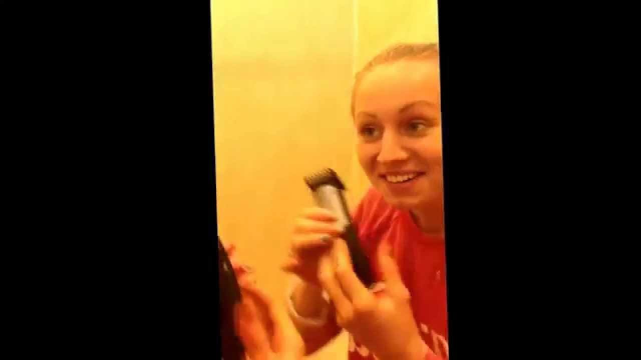 Видео как девушки подбриваются фото 399-119
