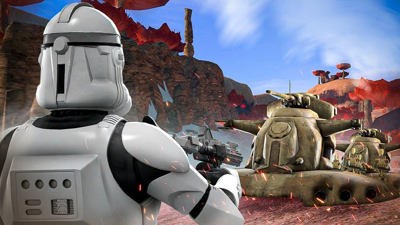 ЗАСАДА НА КОНВОЙ! ► Garry's Mod - Star Wars RP