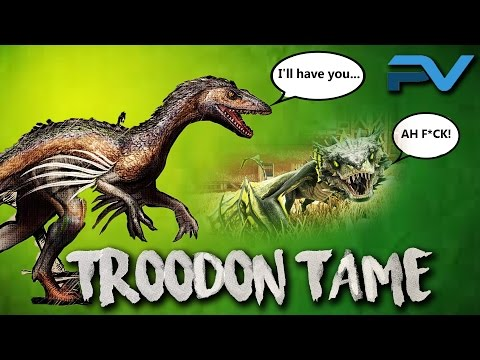ARK: THE CENTER   TAMING A TROODON   SACRIFICING A BABY WYVERN!