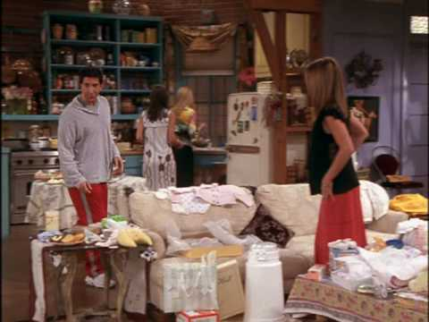 Friends 8x20 The One With The Baby Shower Youtube