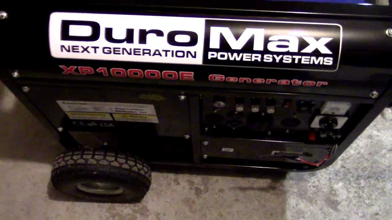 small resolution of duromax xp10000e generator wiring and diagram youtube onan 6500 generator wiring diagram duromax generator wiring diagram
