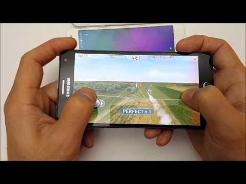 Тест игры Red Bull Air Race на смартфонах Samsung Galaxy A3, A5, A7