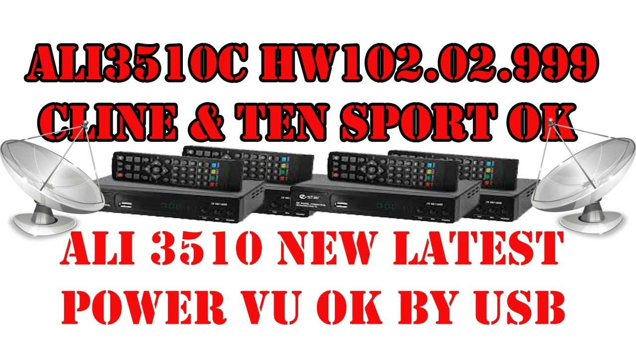 ALI3510C HW102 02 999 CLINE & TEN SPORT OK by usb 2019-06-26