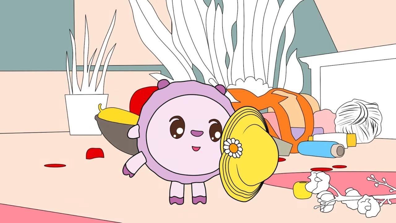 Малышарики - Раскраска для детей - Сюрпиз - YouTube