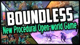 Boundless ✦ NEW PROCEDURAL OPEN-WORLD MMO SANDBOX GAME