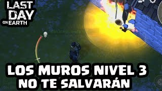 LOS MUROS NIVEL 3 NO TE SALVARÁN (SANQING) | LAST DAY ON EARTH: SURVIVAL | [El Chicha]