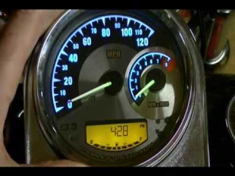 Harley Davidson Sdometer Tachometer Color Combinations #70900070A - on