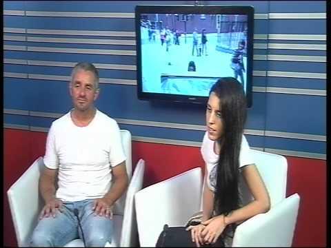 Argentina TV Interview with AYSEDENIZ