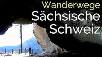 Wanderung Lichtenhainer Wasserfall - Kuhstall - Himmelsleiter |Sächsische Schweiz