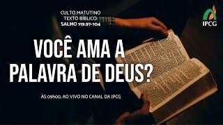 CULTO MATUTINO - 27/12/2020