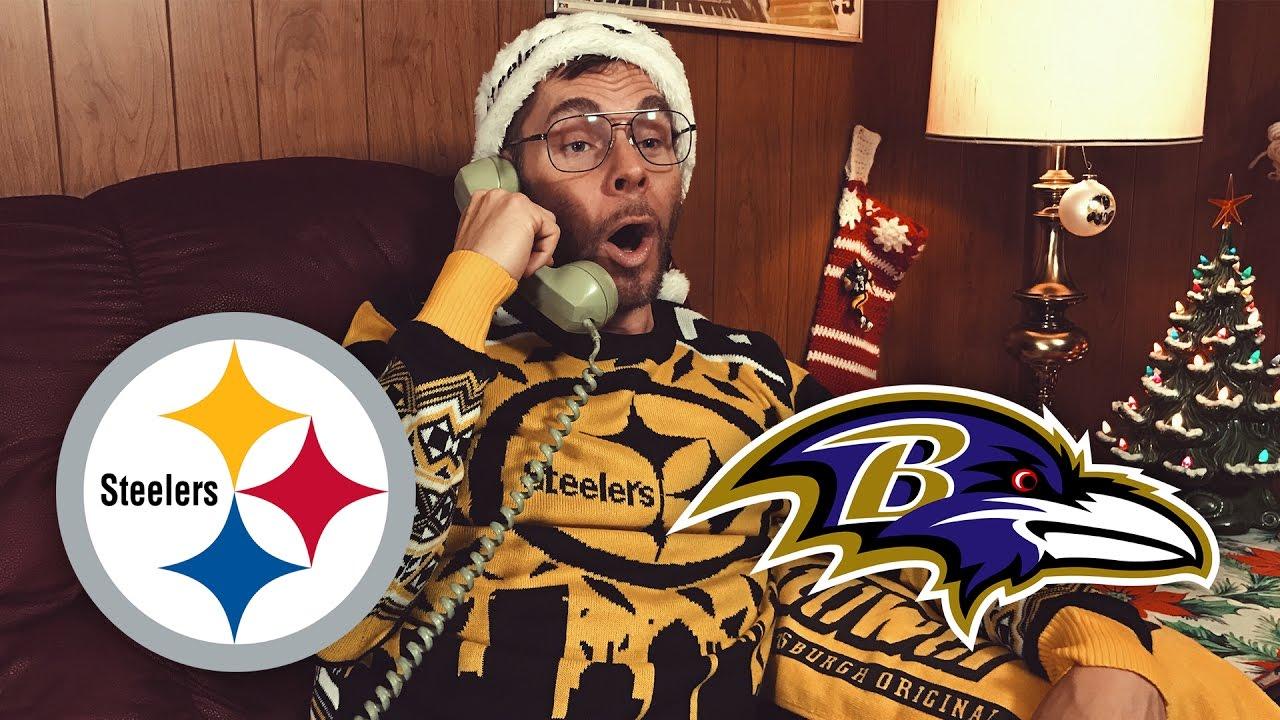 Dad Reacts to Steelers vs Ravens (Week 16)