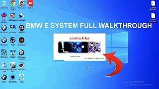 How To Use BMW E System / E SYS Full Walkthrough